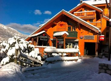 Going to the All downhill Resort of Méribel