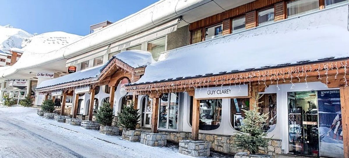 Enjoy your personal space around the piste at Tignes ski resort