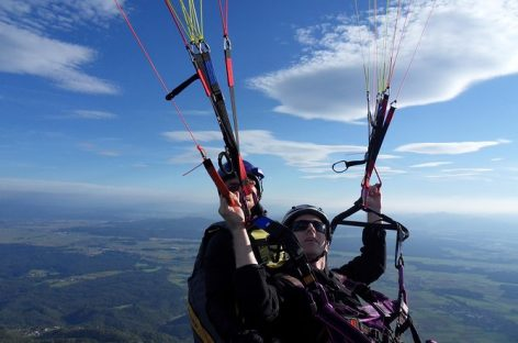 Experience fun, experience paragliding Bled